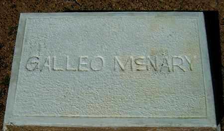 MCNARY, GALLEO K. W. - Yavapai County, Arizona | GALLEO K. W. MCNARY - Arizona Gravestone Photos