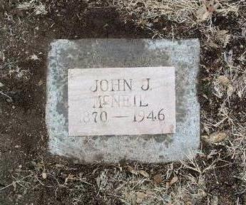 MCNEIL, JOHN J. - Yavapai County, Arizona   JOHN J. MCNEIL - Arizona Gravestone Photos