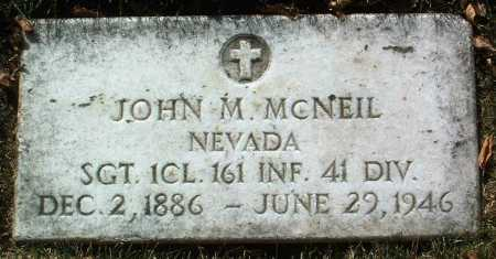 MCNEIL, JOHN M. - Yavapai County, Arizona | JOHN M. MCNEIL - Arizona Gravestone Photos