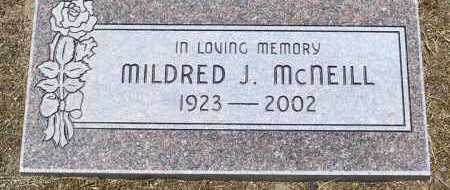 MCNEILL, MILDRED JEAN - Yavapai County, Arizona | MILDRED JEAN MCNEILL - Arizona Gravestone Photos