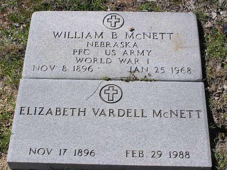 MCNETT, ELIZABETH - Yavapai County, Arizona | ELIZABETH MCNETT - Arizona Gravestone Photos