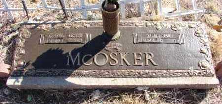 MCOSKER, WILLIE MAE - Yavapai County, Arizona | WILLIE MAE MCOSKER - Arizona Gravestone Photos