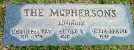 MCPHERSON, JULIA ELAINE - Yavapai County, Arizona   JULIA ELAINE MCPHERSON - Arizona Gravestone Photos