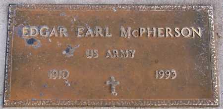 MCPHERSON, EDGAR EARL - Yavapai County, Arizona   EDGAR EARL MCPHERSON - Arizona Gravestone Photos