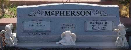 MCPHERSON, FRED WILLIAM - Yavapai County, Arizona | FRED WILLIAM MCPHERSON - Arizona Gravestone Photos
