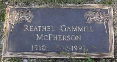 LOLLAR MCPHERSON, REATHEL - Yavapai County, Arizona | REATHEL LOLLAR MCPHERSON - Arizona Gravestone Photos