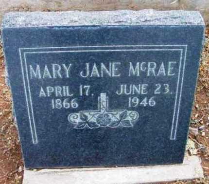 DUFFY MCRAE, MARY JANE - Yavapai County, Arizona   MARY JANE DUFFY MCRAE - Arizona Gravestone Photos