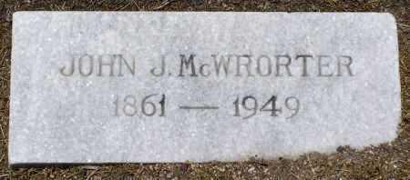MCWHORTER, JOHN JEFFERSON - Yavapai County, Arizona   JOHN JEFFERSON MCWHORTER - Arizona Gravestone Photos