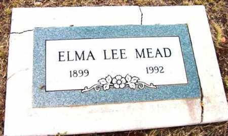 MEAD, ELMA LEE - Yavapai County, Arizona | ELMA LEE MEAD - Arizona Gravestone Photos