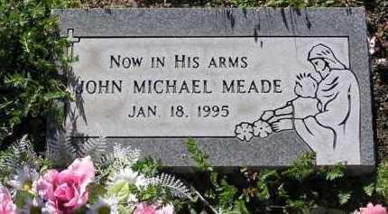MEADE, JOHN MICHAEL - Yavapai County, Arizona | JOHN MICHAEL MEADE - Arizona Gravestone Photos