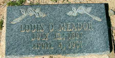 MEADOR, LOUIS OSCAR - Yavapai County, Arizona   LOUIS OSCAR MEADOR - Arizona Gravestone Photos
