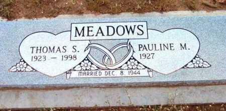 MEADOWS, PAULINE MAE - Yavapai County, Arizona | PAULINE MAE MEADOWS - Arizona Gravestone Photos