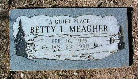 MEAGHER, BETTY LOUISE - Yavapai County, Arizona | BETTY LOUISE MEAGHER - Arizona Gravestone Photos