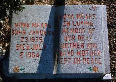 WILTCHER MEANS, NONA - Yavapai County, Arizona | NONA WILTCHER MEANS - Arizona Gravestone Photos