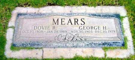 MEARS, DOVIE R. - Yavapai County, Arizona | DOVIE R. MEARS - Arizona Gravestone Photos