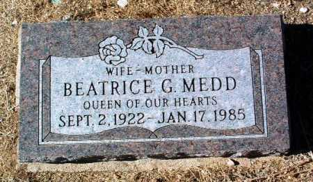 GILLILAND MEDD, BEATRICE - Yavapai County, Arizona | BEATRICE GILLILAND MEDD - Arizona Gravestone Photos