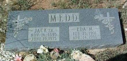 MEDD, EDA MARIE - Yavapai County, Arizona   EDA MARIE MEDD - Arizona Gravestone Photos