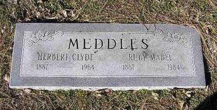 MEDDLES, RUBY MABEL - Yavapai County, Arizona | RUBY MABEL MEDDLES - Arizona Gravestone Photos