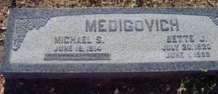MEDIGOVICH, MICHAEL S. - Yavapai County, Arizona | MICHAEL S. MEDIGOVICH - Arizona Gravestone Photos