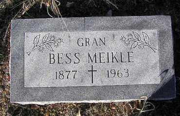 MEIKLE, BESS - Yavapai County, Arizona | BESS MEIKLE - Arizona Gravestone Photos