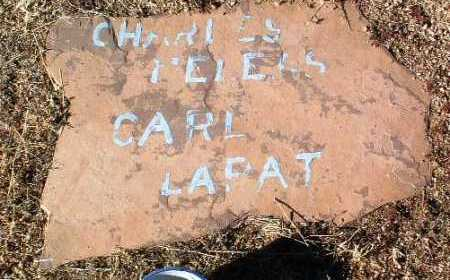 LAPAT, CARL - Yavapai County, Arizona | CARL LAPAT - Arizona Gravestone Photos