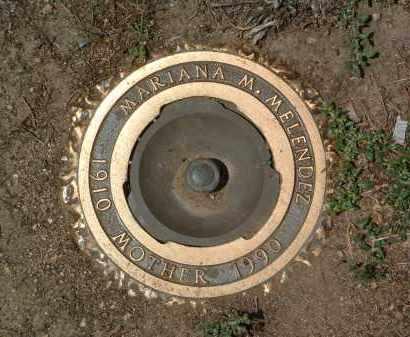 MELENDEZ, MARIANA M. - Yavapai County, Arizona | MARIANA M. MELENDEZ - Arizona Gravestone Photos