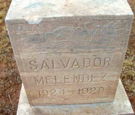 MELENDEZ, SALVADOR - Yavapai County, Arizona | SALVADOR MELENDEZ - Arizona Gravestone Photos
