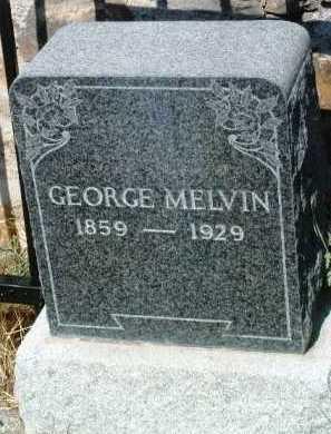 MELVIN, GEORGE - Yavapai County, Arizona   GEORGE MELVIN - Arizona Gravestone Photos