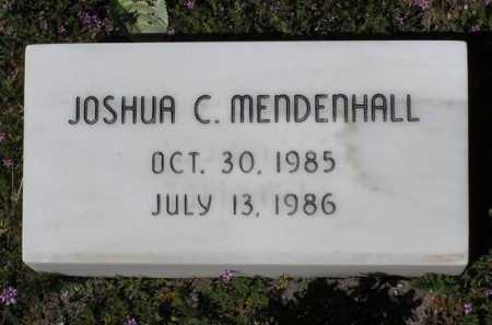 MENDENHALL, JOSHUA C. - Yavapai County, Arizona | JOSHUA C. MENDENHALL - Arizona Gravestone Photos