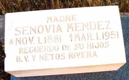 MADRID MENDEZ, SENOVIA - Yavapai County, Arizona   SENOVIA MADRID MENDEZ - Arizona Gravestone Photos