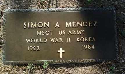 MENDEZ, SIMON A. - Yavapai County, Arizona | SIMON A. MENDEZ - Arizona Gravestone Photos