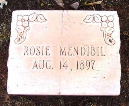 MENDIBIL, ROSARIO (ROSIE) - Yavapai County, Arizona | ROSARIO (ROSIE) MENDIBIL - Arizona Gravestone Photos