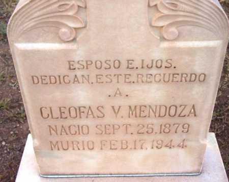MENDOZA, CLEOFAS V. - Yavapai County, Arizona | CLEOFAS V. MENDOZA - Arizona Gravestone Photos