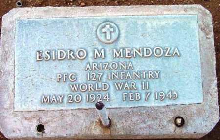 MENDOZA, ESIDRO M. - Yavapai County, Arizona   ESIDRO M. MENDOZA - Arizona Gravestone Photos
