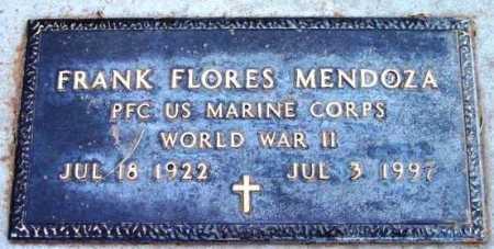 MENDOZA, FRANK FLORES - Yavapai County, Arizona | FRANK FLORES MENDOZA - Arizona Gravestone Photos