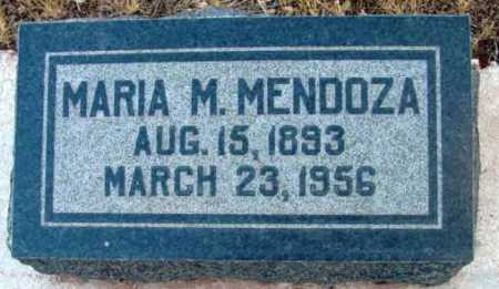 MENDOZA, MARIA M. - Yavapai County, Arizona | MARIA M. MENDOZA - Arizona Gravestone Photos
