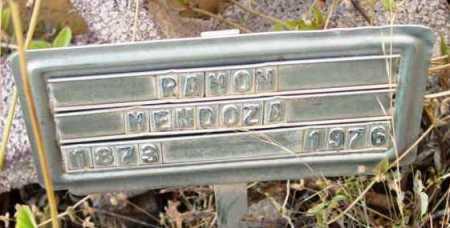 MENDOZA, RAMON - Yavapai County, Arizona | RAMON MENDOZA - Arizona Gravestone Photos