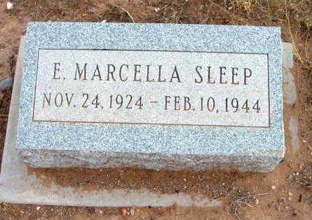 SLEEP MENSAY, EDITH MARCELLA - Yavapai County, Arizona   EDITH MARCELLA SLEEP MENSAY - Arizona Gravestone Photos