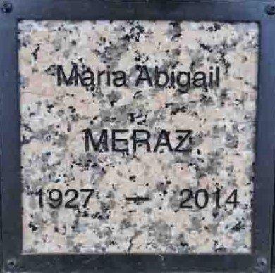 MERAZ, MARIA ABIGAIL - Yavapai County, Arizona | MARIA ABIGAIL MERAZ - Arizona Gravestone Photos