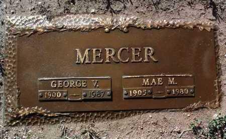 MERCER, GEORGE VERNON - Yavapai County, Arizona | GEORGE VERNON MERCER - Arizona Gravestone Photos