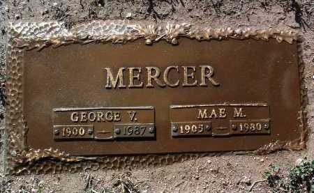 GLASER MERCER, MAE M. - Yavapai County, Arizona | MAE M. GLASER MERCER - Arizona Gravestone Photos