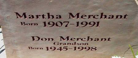 MERCHANT, DONALD W. - Yavapai County, Arizona   DONALD W. MERCHANT - Arizona Gravestone Photos