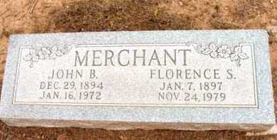 MERCHANT, JOHN B. - Yavapai County, Arizona | JOHN B. MERCHANT - Arizona Gravestone Photos