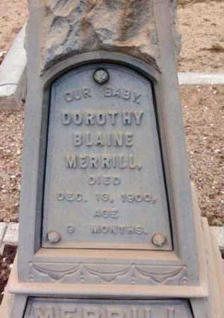 MERRILL, DORTHY BLAINE - Yavapai County, Arizona | DORTHY BLAINE MERRILL - Arizona Gravestone Photos