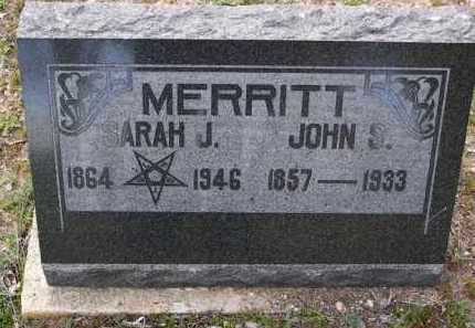 POTTS MERRITT, SARAH J. - Yavapai County, Arizona | SARAH J. POTTS MERRITT - Arizona Gravestone Photos
