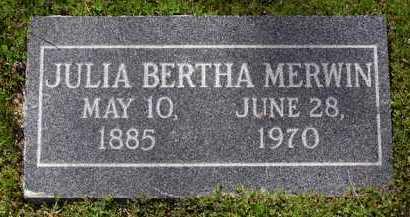 MERWIN, JULIA BERTHA - Yavapai County, Arizona | JULIA BERTHA MERWIN - Arizona Gravestone Photos