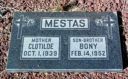 MESTAS, BONIFACTIO (BONY) - Yavapai County, Arizona   BONIFACTIO (BONY) MESTAS - Arizona Gravestone Photos