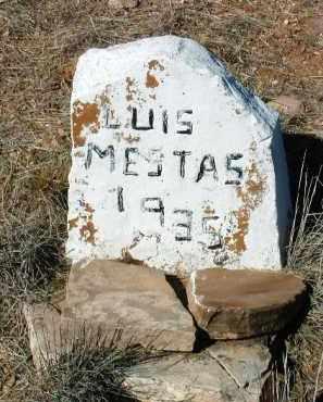 MESTAS, LUIS / LOUIS - Yavapai County, Arizona | LUIS / LOUIS MESTAS - Arizona Gravestone Photos