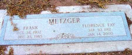 WILKERSON METZGER, F. F. - Yavapai County, Arizona | F. F. WILKERSON METZGER - Arizona Gravestone Photos