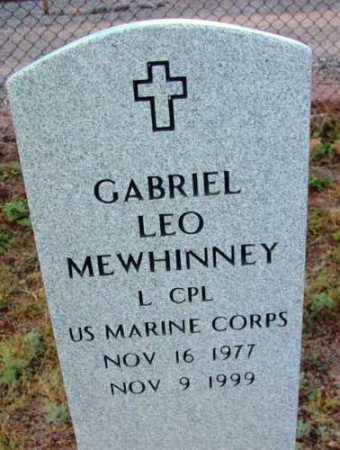 MEWHINNEY, GABRIEL LEO - Yavapai County, Arizona | GABRIEL LEO MEWHINNEY - Arizona Gravestone Photos